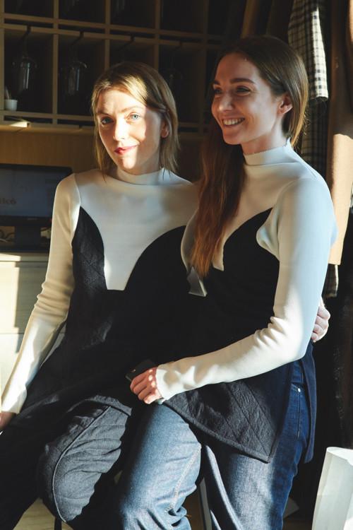 Лиля Литковская и Елена Пащенко