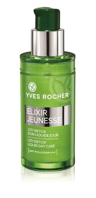 Денний флюїд для обличчя «Детокс і відновлення», Yves Rocher