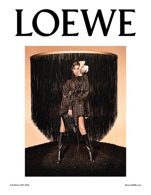 Loewe осень-зима 2017