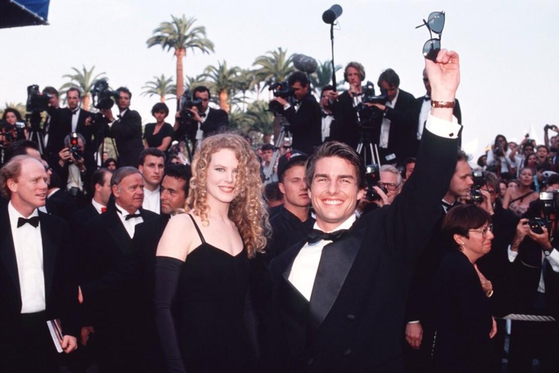 Ніколь Кідман і Том Круз, 1992