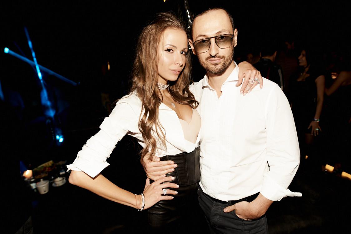 Елена Берия и Алексей Котковский
