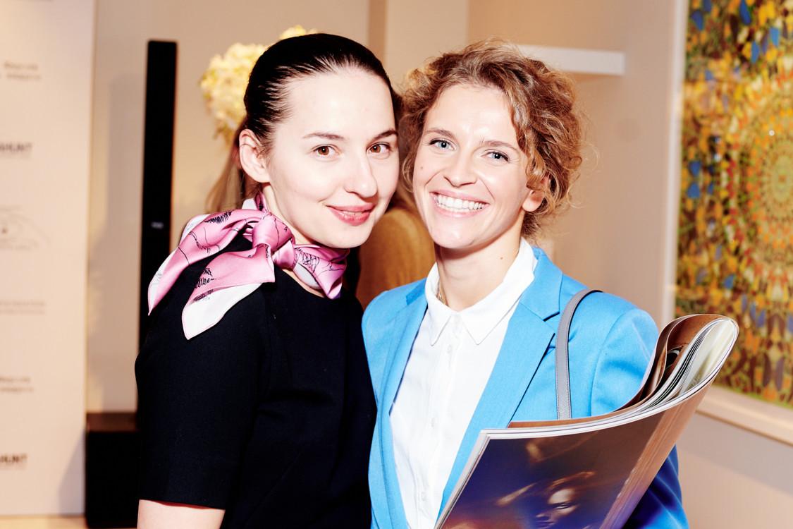 Виолетта Федорова и Валерия Гузема