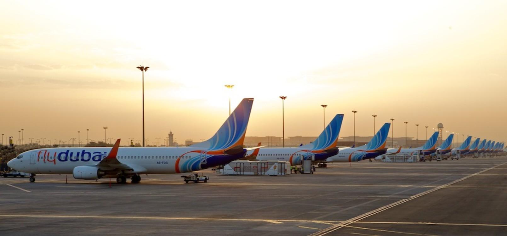Самолеты flydubai