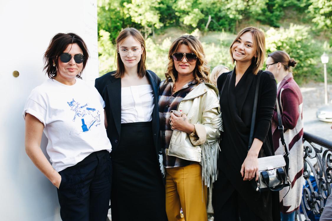 Хрыстя Храновская, Надя Шаповал, Маша Шубина