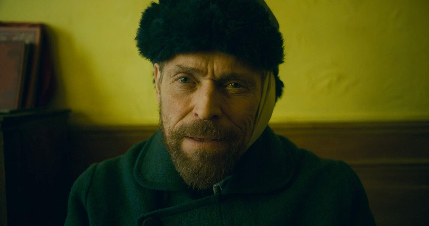 Уиллем Дефо в фильме «Ван Гог. На пороге вечности», 2018