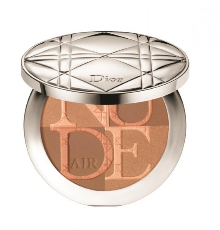 Пудра-бронзер с эффектом сияния Diorskin Nude Air Glow Powder, № 004 Warm Light, Dior
