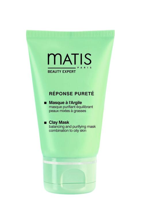 Балансирующая очищающая маска с глиной для смешанной и жирной кожи Masque à l'Argile, Matis