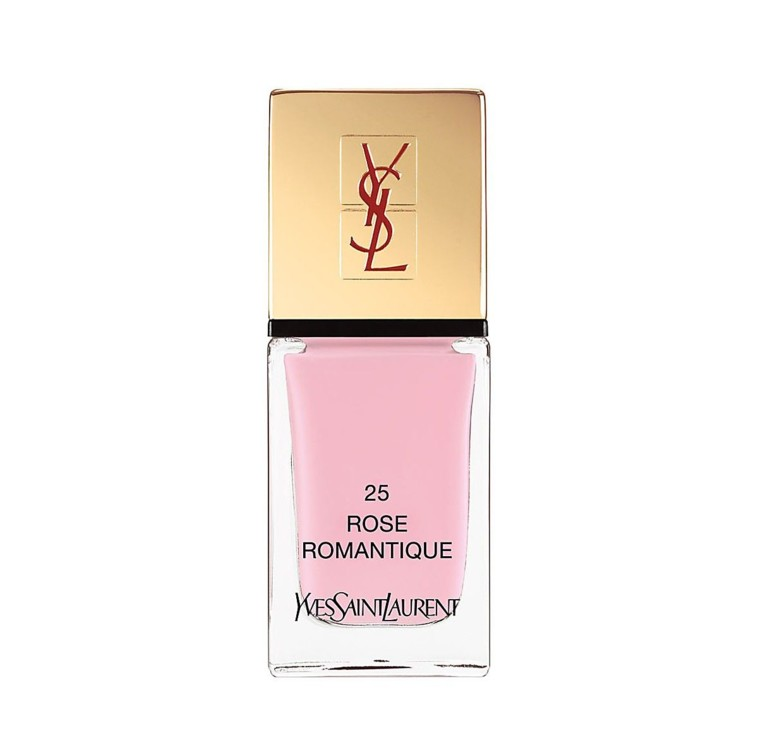 Yves Saint Laurent Beaute La Laque Couture in Rose Romantiq