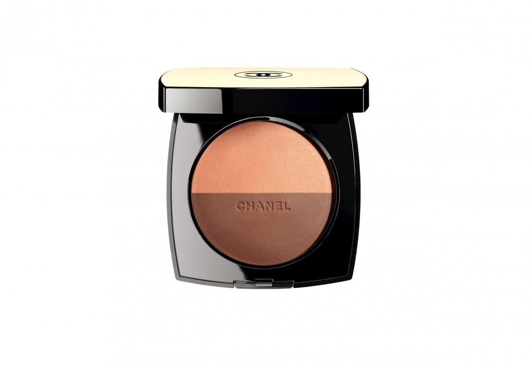 Компактная пудра-бронзер с эффектом естественного сияния Les Beiges Healthy Glow Multi-Colour, Duo № 1, Chanel