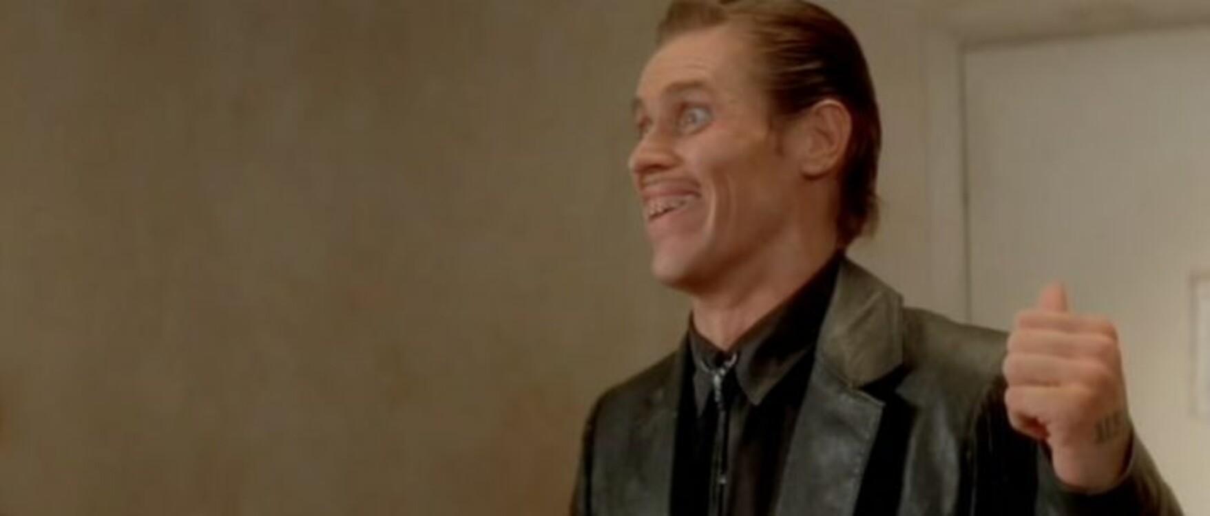 Віллем Дефо у фільмі «Дикі серцем», 1990