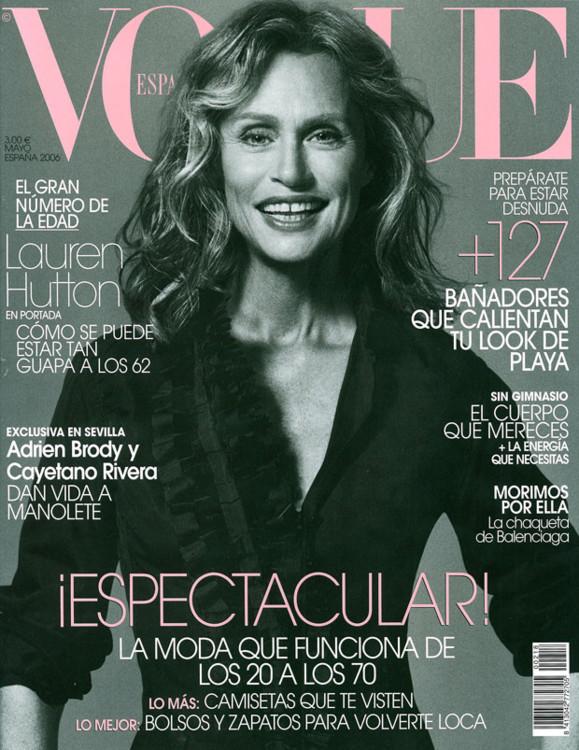 Vogue España, май 2006