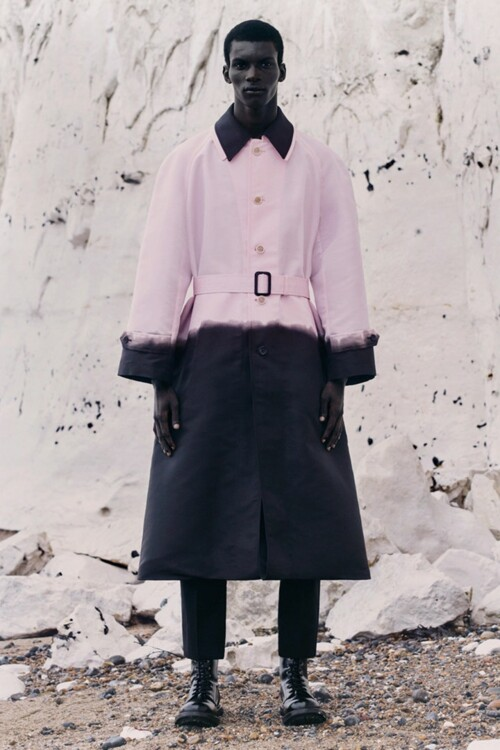 Alexander McQueen Menswear весна-лето 2021