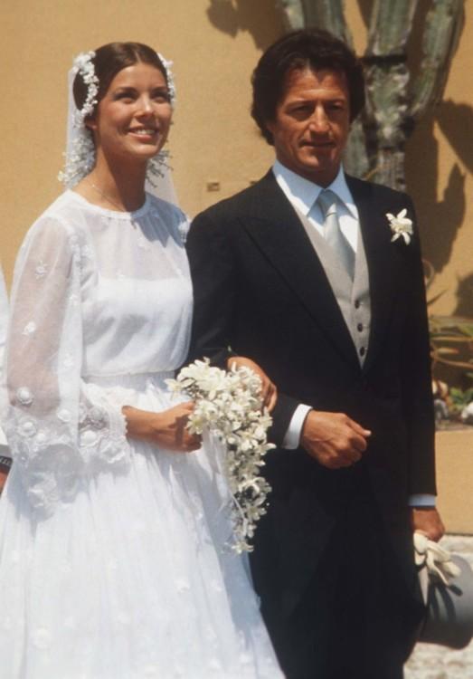 Принцеса Кароліна і Філіп Жюно, червень 1978