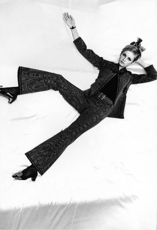 Расклешенная куртка и брюки Mary Quant, октябрь 1966
