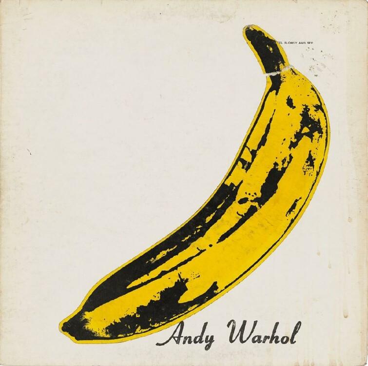 """""""Банан"""" (обложка альбома группы Velvet Underground), 1967"""