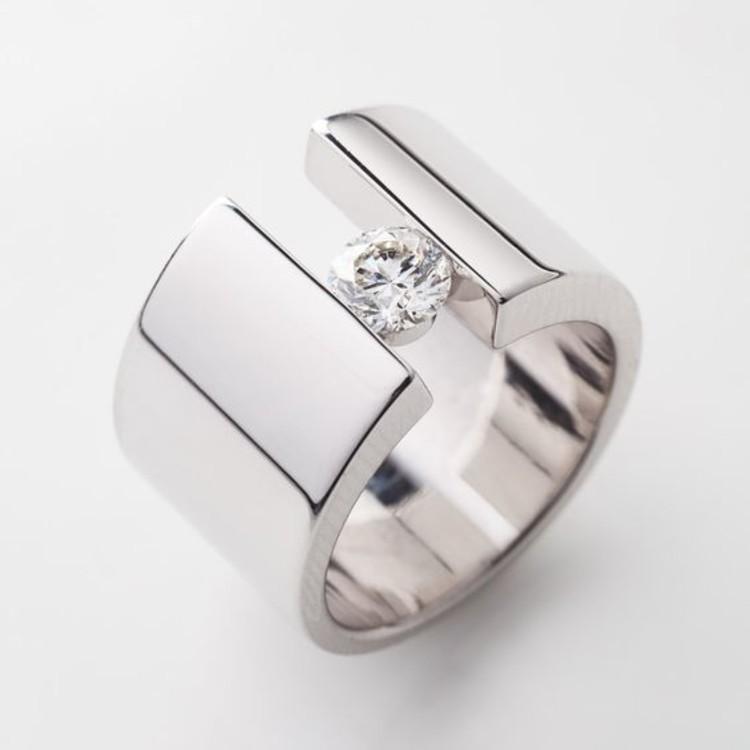 Кольцо, бриллиант, Richard Moser