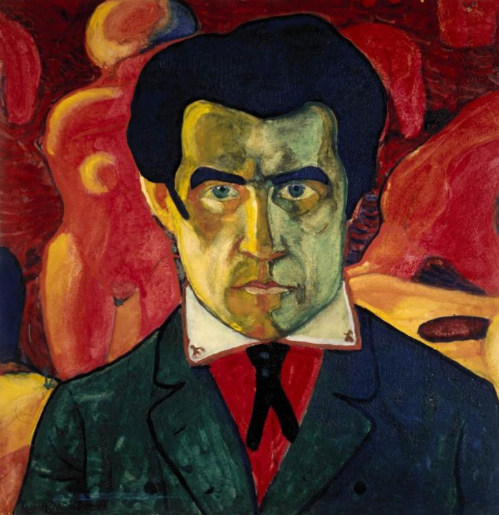 «Автопортрет», 1910 (Государственная Третьяковская галерея, Москва)
