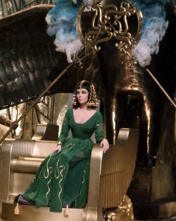 Элизабет Тэйлор в фильме «Клеопатра», 1963