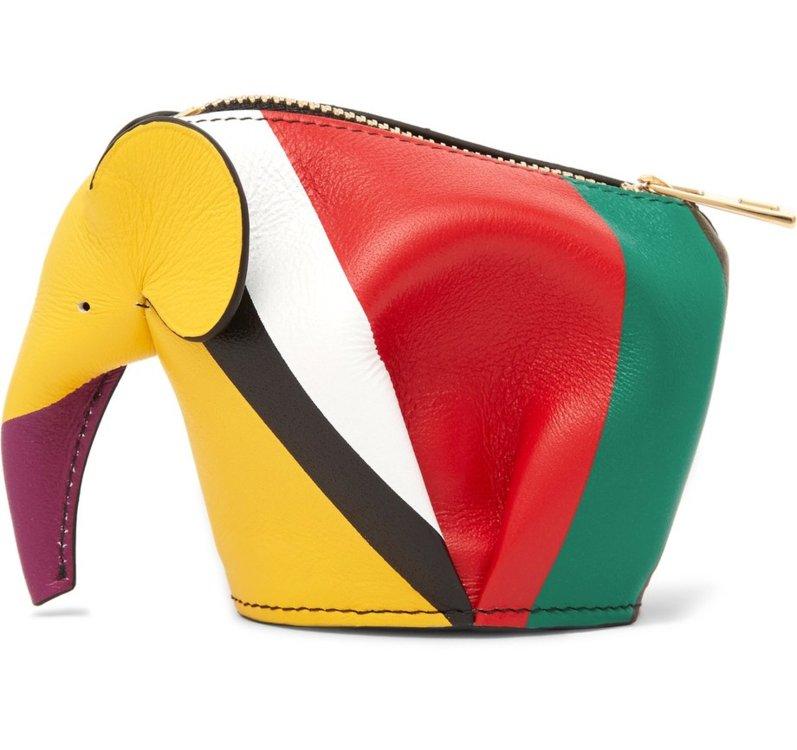 Кожаный кошелек для мелочи, Loewe