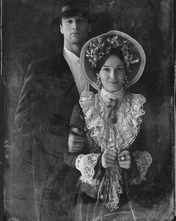 40-е г. XIX ст., фотопроект «150 лет портретной съемки»