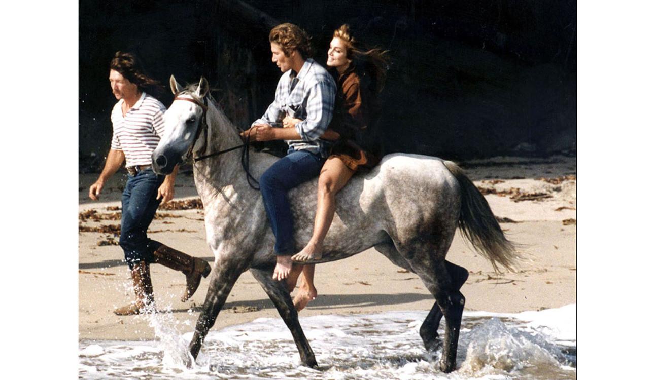 Ричард Гир и Синди Кроуфорд, 1992 год