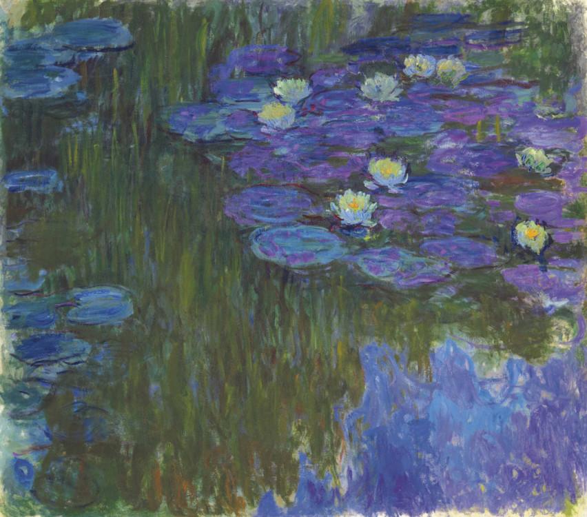 «Кувшинки в цвету», 1917