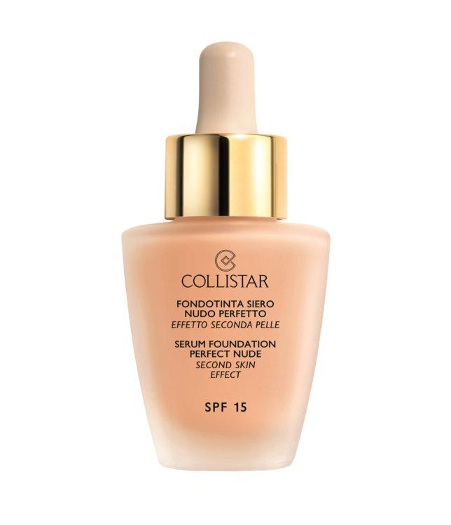 Тональная сыворотка c эффектом второй кожи Serum Foundation Perfect Nude SPF 15, COLLISTAR