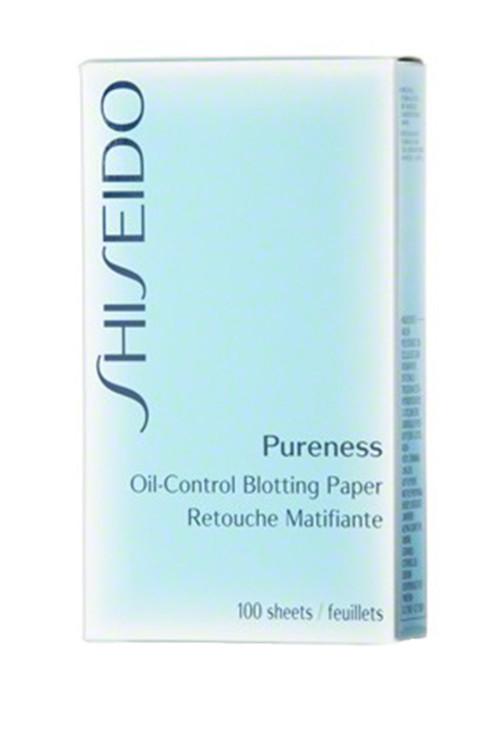 Матирующие салфетки Pureness, Shiseido