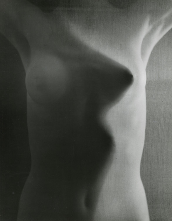 Erwin Blumenfeld, Veiled Nude, Light/Shadow, Paris - 1939 ©️ 2018 Yvette Blumenfeld Georges Deeton/Blumenfeld Estate, Courtesy Howard Greenberg Gallery, New York