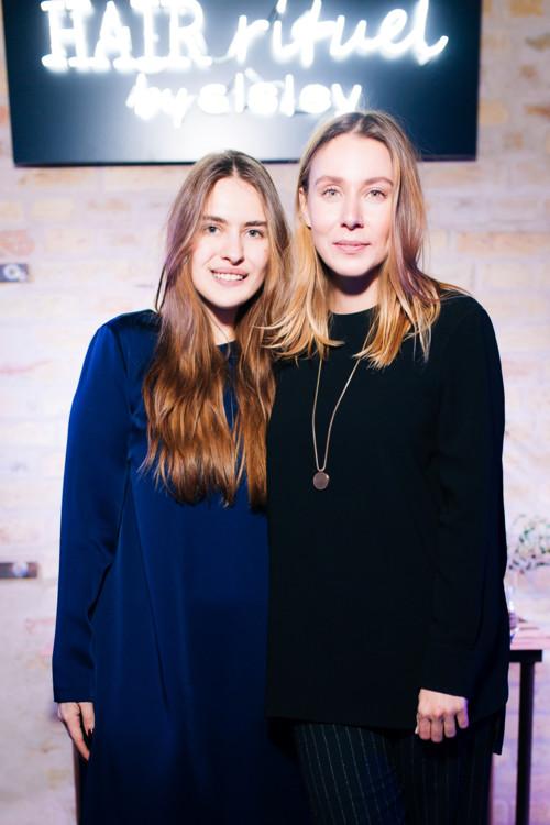 Евгения Скибина и Александра Бородина