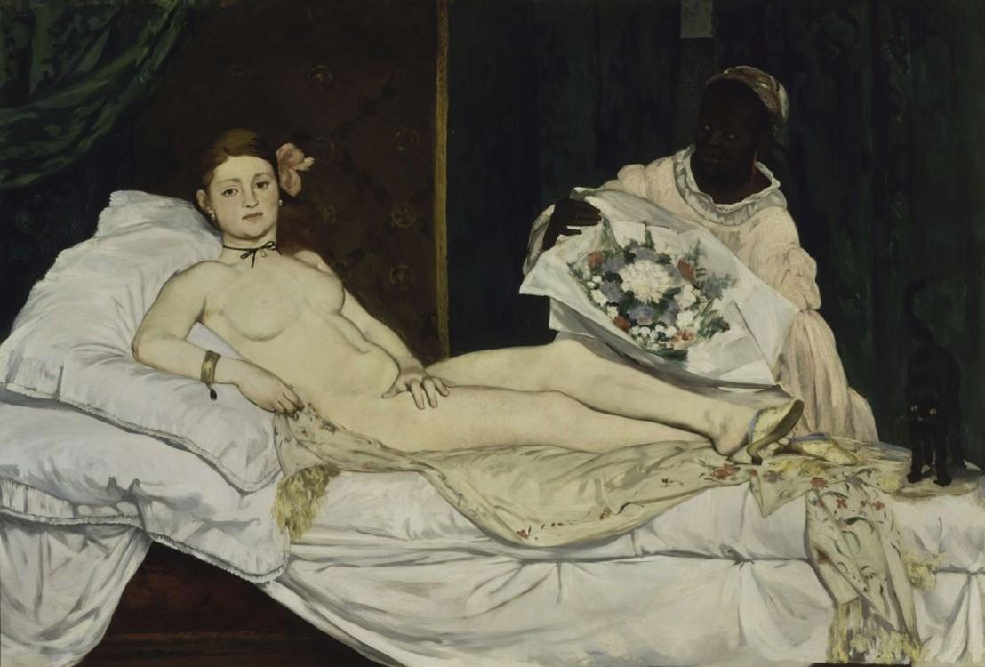 «Олімпія», 1863 (Музей Орсе, Париж)