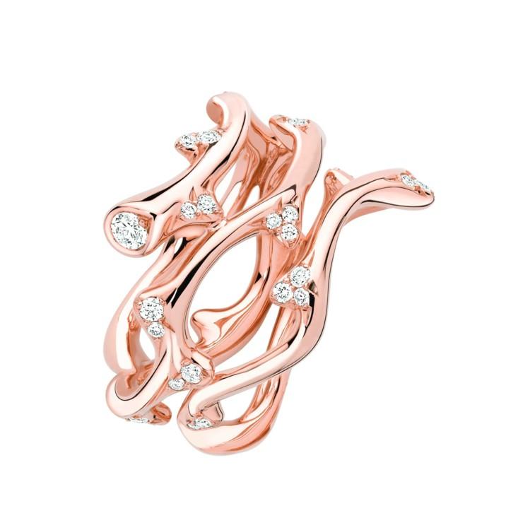 Розовое золото и бриллианты