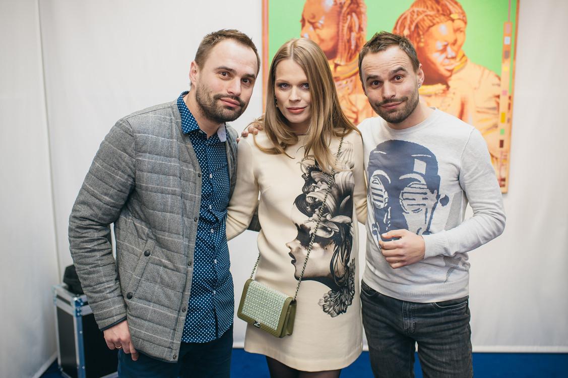 Ольга Фреймут, Владимир и Александр Юдины