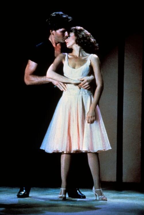 """Дженніфер Грей у фільмі """"Брудні танці"""""""