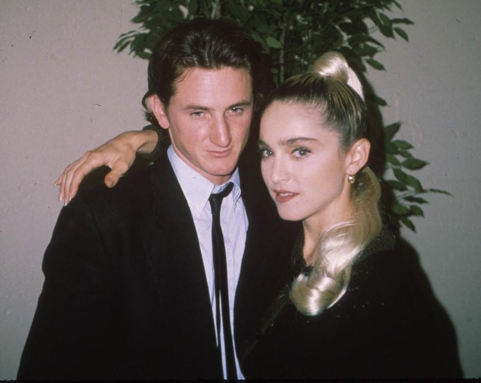 Шон Пенн и Мадонна