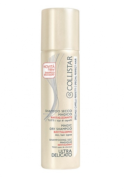 Сухой шампунь для всех типов волос, Collistar, сделает волосы матовыми и освежит прическу