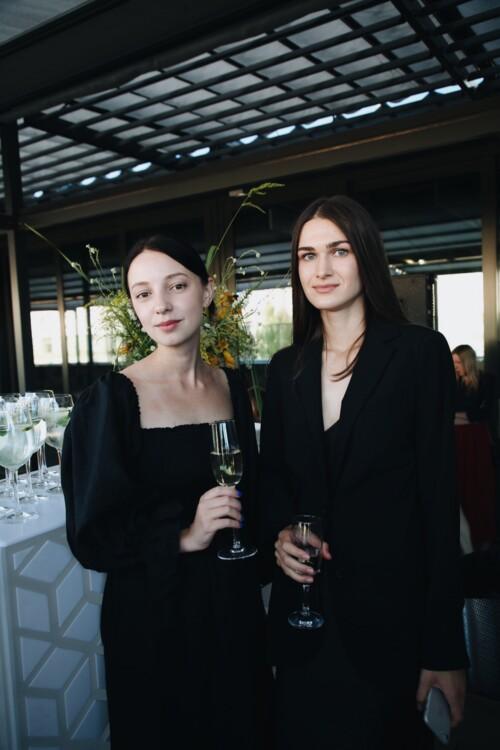 Анна Кравинская и Ольга Козаченко