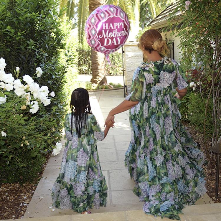 Бейонсе с дочерью Блю Иви Картер