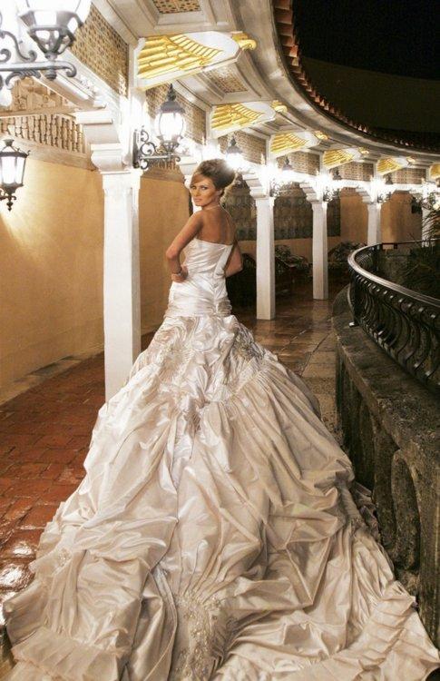 Свадебное платье Мелании Трамп