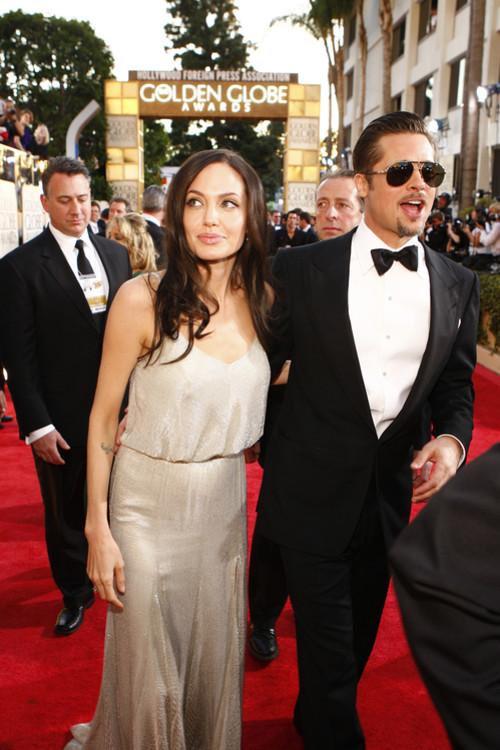 Анджелина Джоли и Брэд Питт, 2009