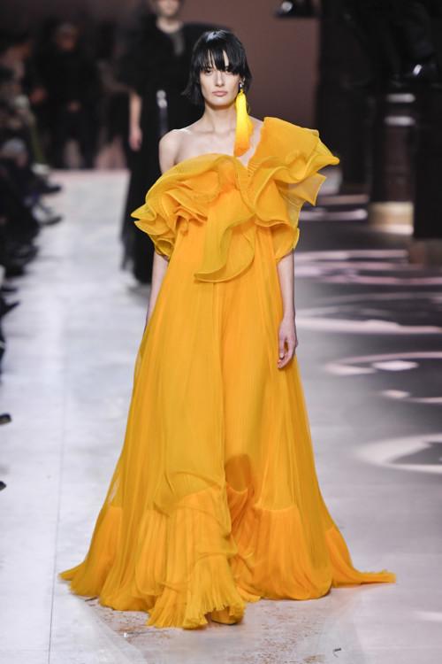 Марфа на шоу Givenchy Couture весна-літо 2020