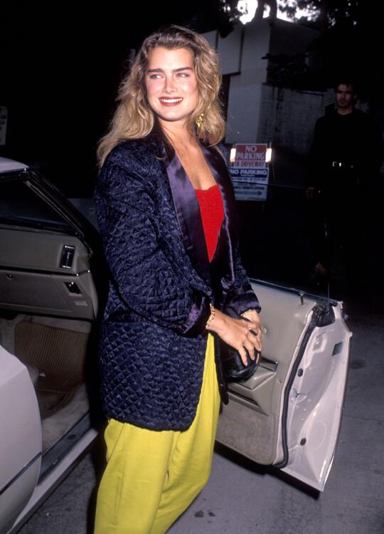 Брук Шилдс, 1990
