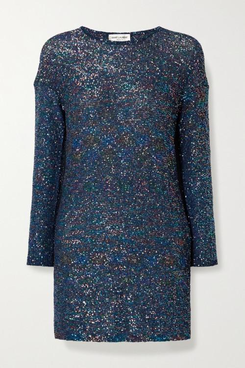 Платья из мерцающих тканей весна-лето 2020 фото