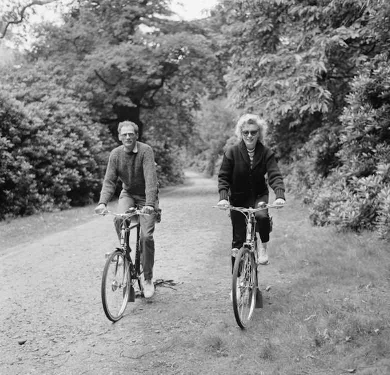 Мэрилин Монро и Артур Миллер, август 1956