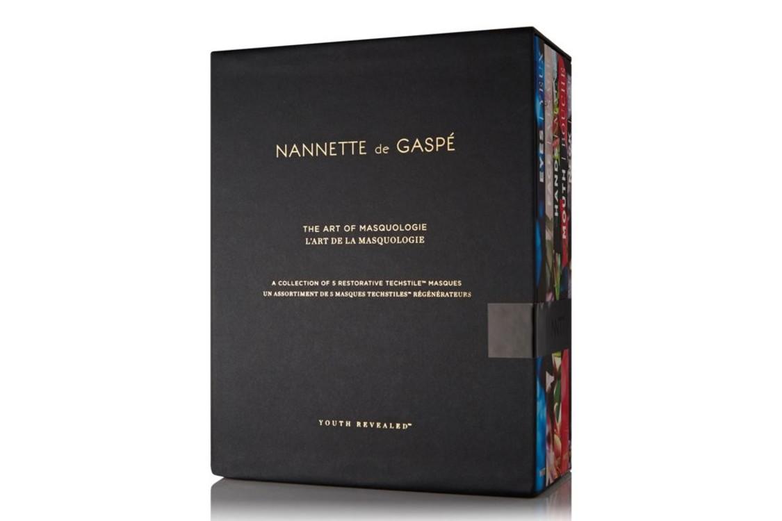 Набор из пяти культовых безводных масок Art of Masquologie, Nannette de Gaspé