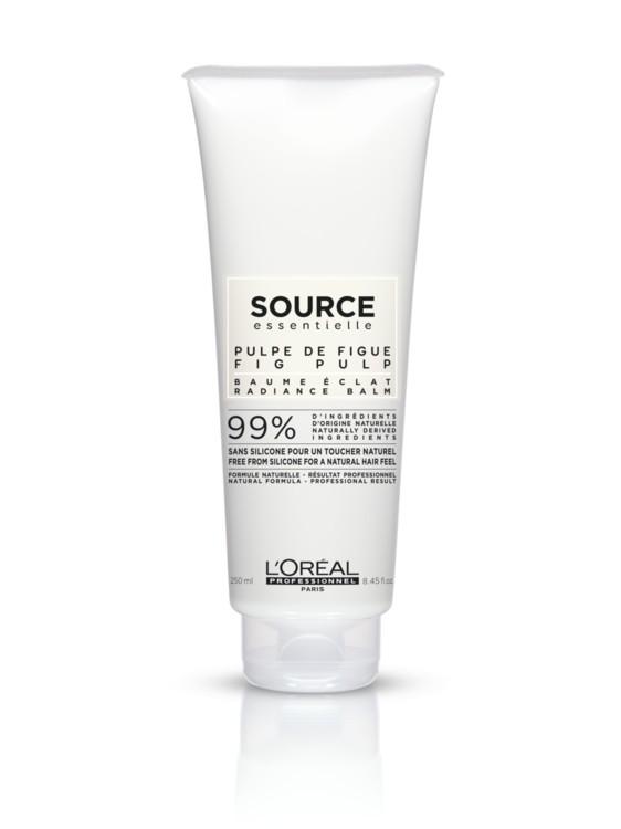 Бальзам для защиты цвета и сияния окрашенных волос Professionnel Source Essentielle Radiance Balm, L'Oreal