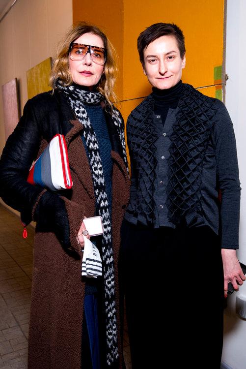 Роуз Лангбейн и Татьяна Соловей