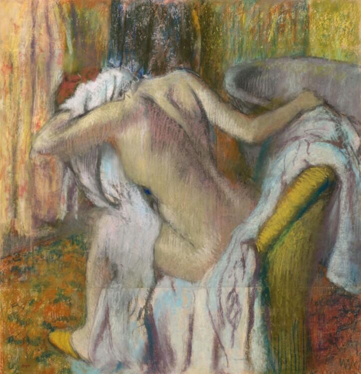 «После ванны. Женщина вытирается», 1905
