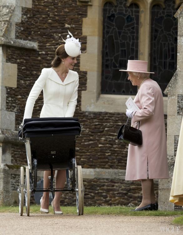 Крестины принцессы Шарлотты, июль 2015 года