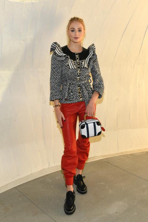 Софи Тернер в Louis Vuitton